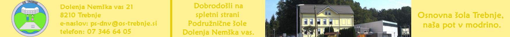 Spletna stran Podružnične šole Dolenja Nemška vas